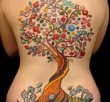 Fotos de tatuajes para la espalda