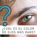 Color de ojos mas raro