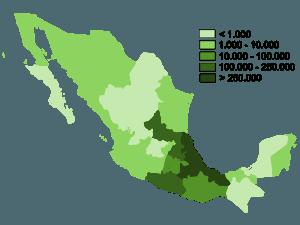 Donde se habla la lengua Nahuatl