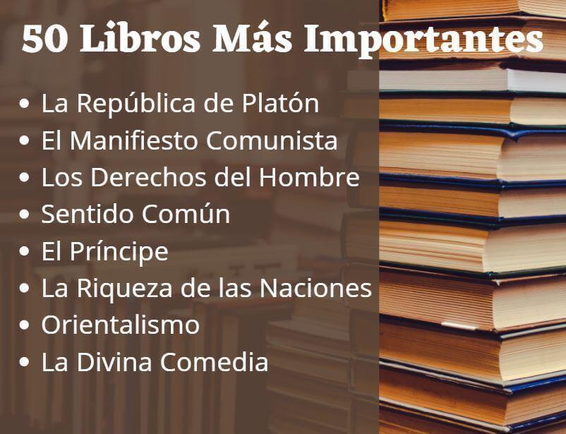 Los Libros mas importantes de la historia
