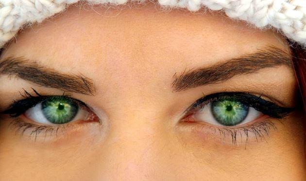 Significado de los ojos verdes