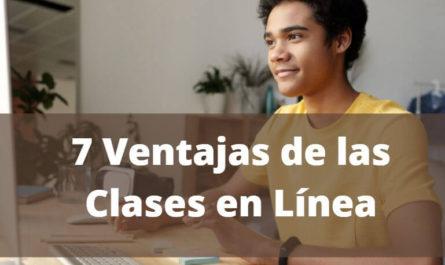 7 Ventajas de las clases en linea