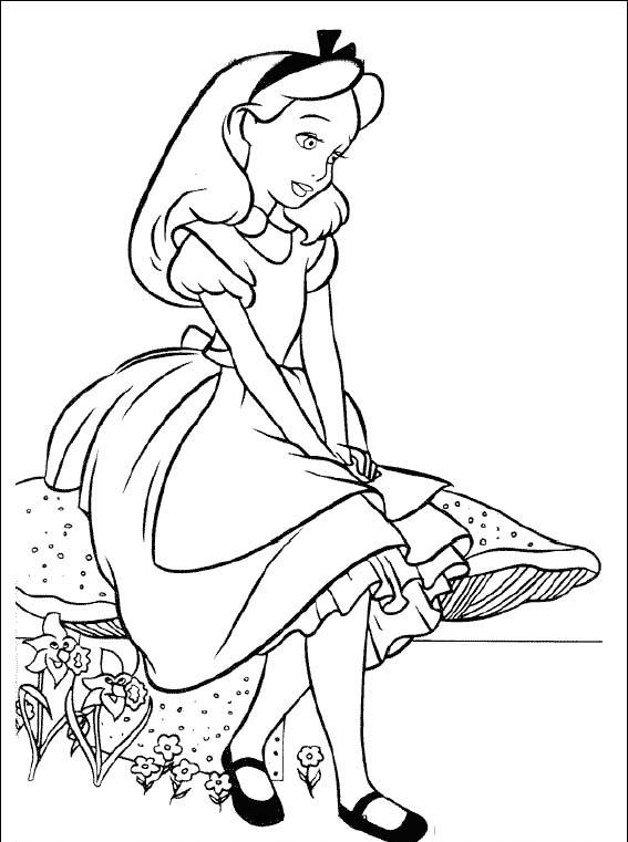 Imagenes de princesas para colorear. 40 plantillas Disney para ...