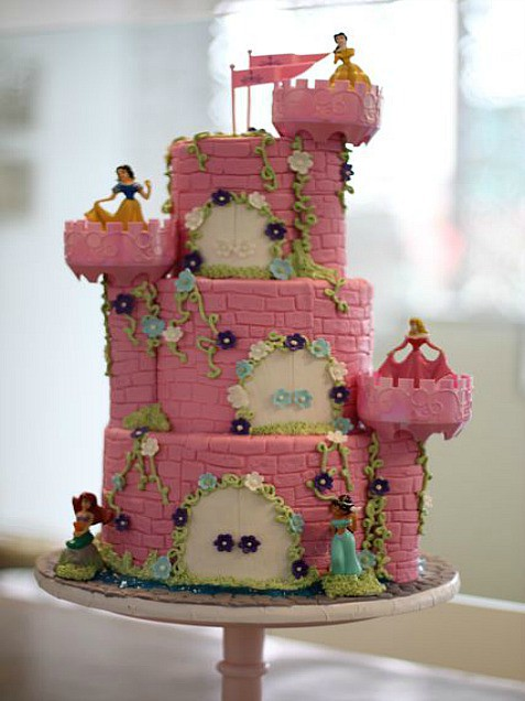 Tortas de princesas de disney para cumplea os tortas for Tortas decoradas faciles