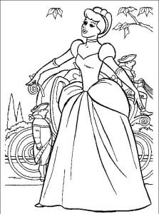 Imagenes De Princesas Para Colorear 40 Plantillas Disney