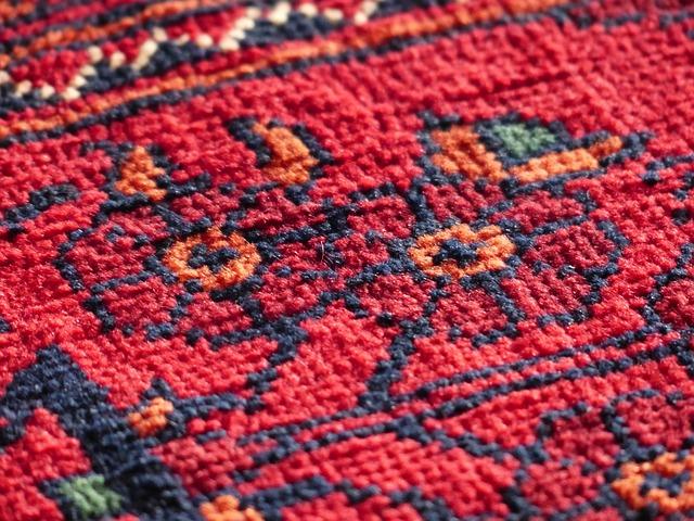 Como limpiar una alfombra sin aspiradora como se lava una alfombra veintipico - Como limpiar las alfombras en casa ...