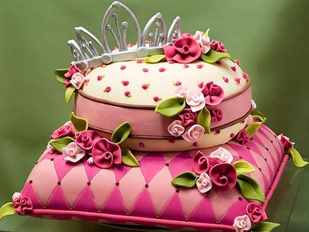 Tortas de princesas de Disney para cumpleaños. Tortas decoradas fotos