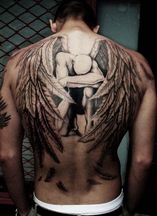 Fotos de tatuajes para la espalda   Veintipico
