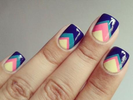Imagenes de uñas pintadas a mano