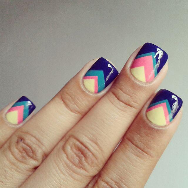 Fotos de uñas pintadas a mano: Inspírate con estos diseños!