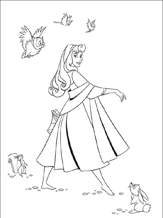 Imagenes de princesas para colorear 40 plantillas disney - Plantilla para pintar pared ...