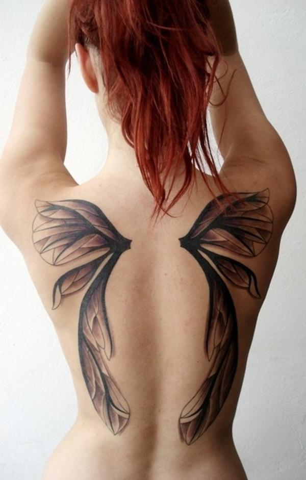 Fotos de tatuajes para la espalda para chicas