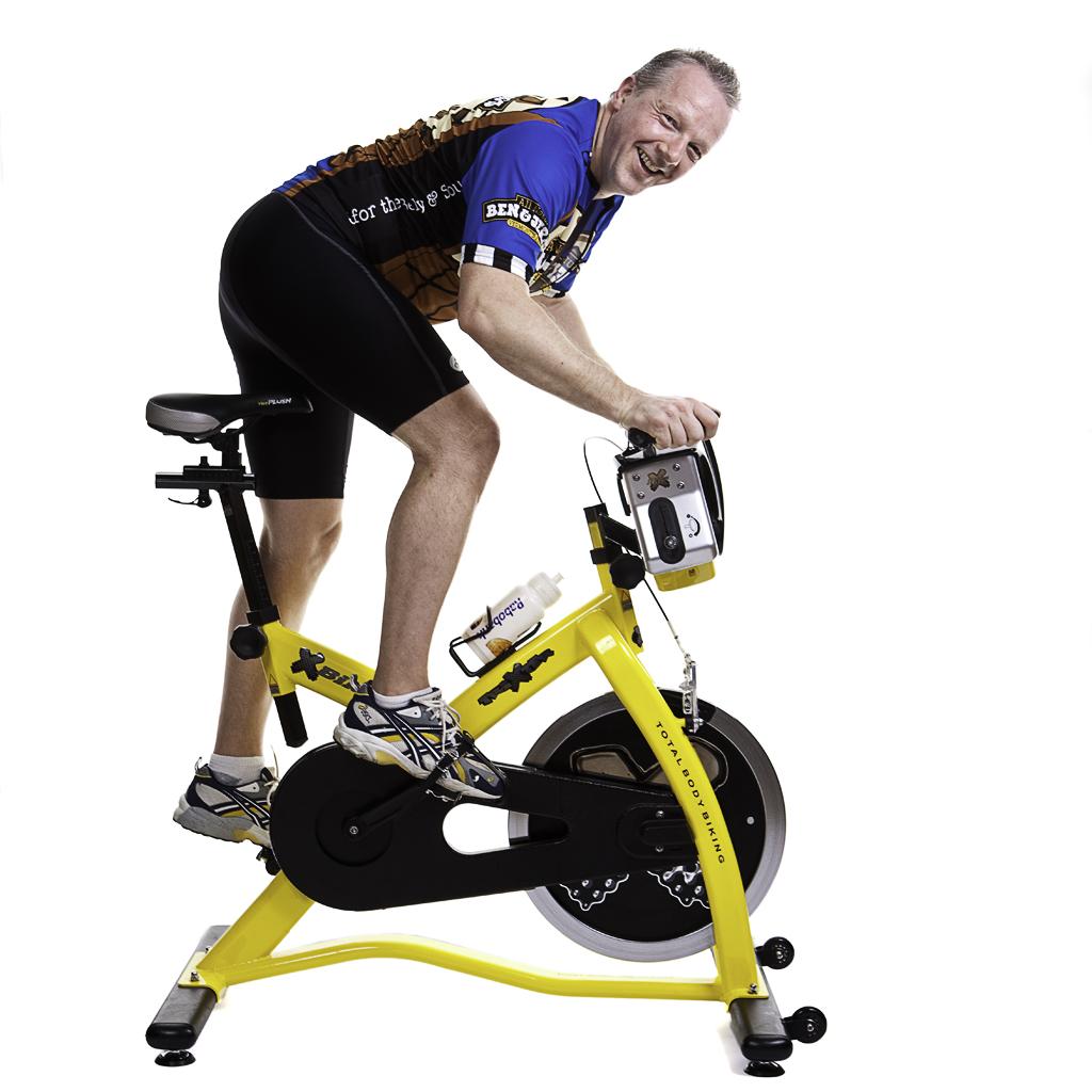 perder peso con bici estática