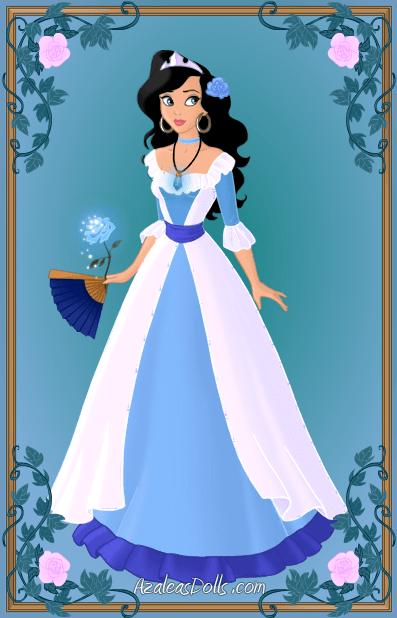 Imagenes de princesas para colorear