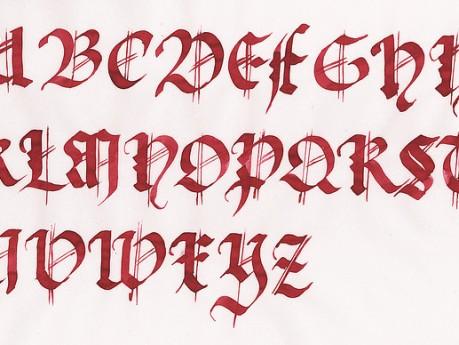 Mi Nombre En Letras Goticas Para Tatuajes Veintipico Veintipico