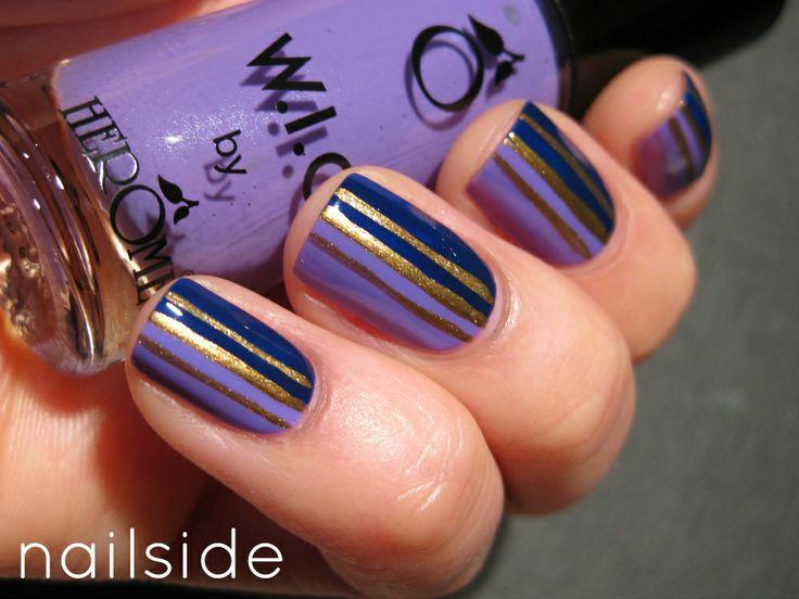 Fotos de uñas pintadas a mano